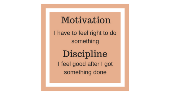motivation vs discipline